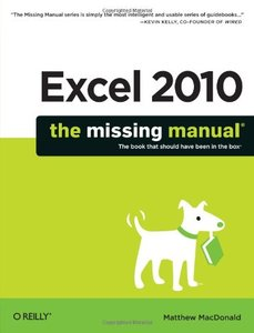 Excel 2010: The Missing Manual (Paperback)-cover