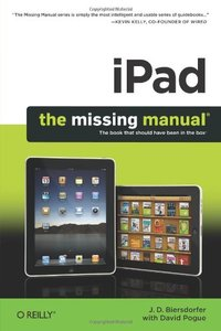 iPad: The Missing Manual (Paperback)-cover