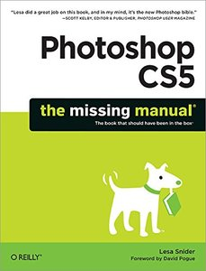 Photoshop CS5: The Missing Manual (Paperback)-cover