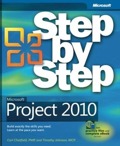 Microsoft Project 2010 Step by Step (Paperback)-cover