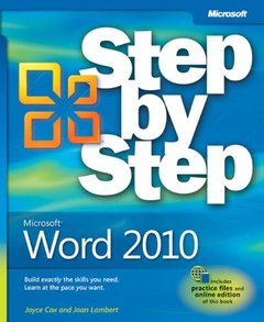 Microsoft Word 2010 Step by Step (Paperback)-cover
