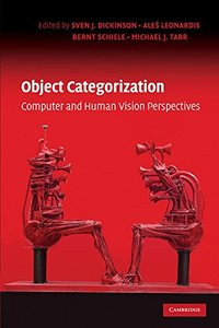 Object Categorization: Computer and Human Vision Perspectives (Hardcover)-cover