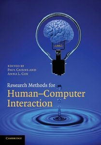 Research Methods for Human-Computer Interaction (Paperback)-cover