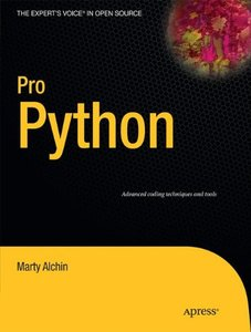 Pro Python (Paperback)-cover