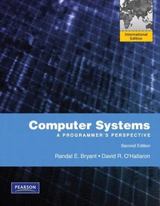 Computer Systems: A Programmer's Perspective, 2/e (IE-Paperback)-cover