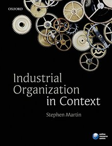 Industrial Organization in Context (Paperback)-cover