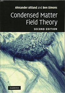 Condensed Matter Field Theory, 2/e (Hardcover)-cover