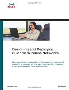 Designing and Deploying 802.11n Wireless Networks (Hardcover)-cover