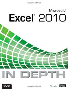 Microsoft Excel 2010 In Depth (Paperback)-cover
