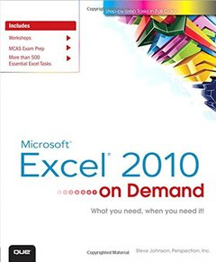 Microsoft Excel 2010 On Demand (Paperback)-cover