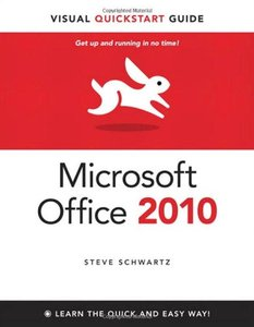 Microsoft Office 2010 for Windows: Visual QuickStart (Paperback)-cover