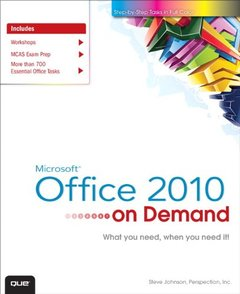 Microsoft Office 2010 On Demand (Paperback)-cover