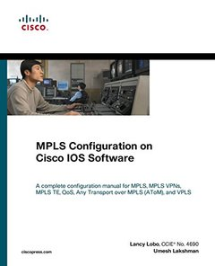 MPLS Configuration on Cisco IOS Software (Paperback)-cover