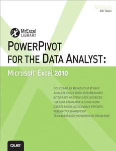 PowerPivot for the Data Analyst: Microsoft Excel 2010 (Paperback)-cover