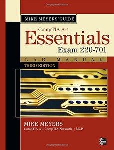 Mike Meyers CompTIA A+ Guide: Essentials Lab Manual, 3/e (Exam 220-701) (Paperback)-cover