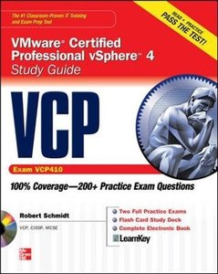 VCP VMware Certified Professional vSphere 4 Study Guide (Exam VCP410) (Paperback)-cover