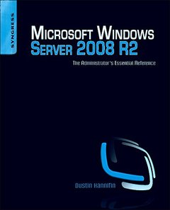 Microsoft Windows Server 2008 R2 Administrator's Reference: The Administrator's Essential Reference (Paperback)-cover