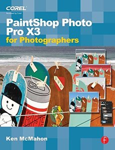 Paint Shop Photo Pro X3 For Photographers (Paperback)-cover