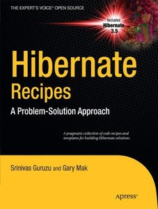 Hibernate Recipes: A Problem-Solution Approach (Paperback)-cover