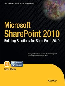 Microsoft SharePoint 2010: Building Solutions for SharePoint 2010 (Paperback)-cover