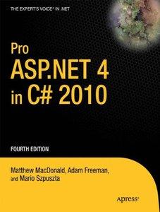 Pro ASP.NET 4 in C# 2010, 4/e (Paperback)-cover