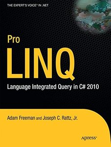 Pro LINQ: Language Integrated Query in C# 2010 (Paperback)-cover