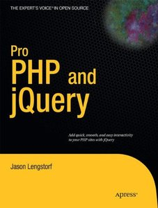 Pro PHP and jQuery (Paperback)-cover