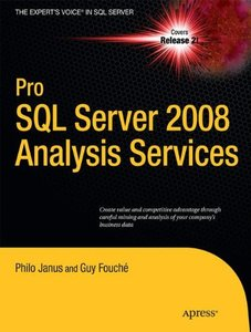 Pro SQL Server 2008 Analysis Services (Paperback)-cover