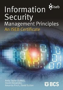 Information Security Management Principles - An ISEB certificate (Paperback)-cover