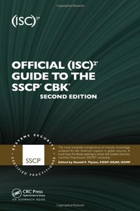 Official (ISC)2 Guide to the SSCP CBK, 2/e (Hardcover)-cover