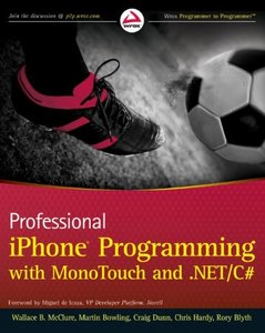 Professional iPhone Programming with MonoTouch and .NET/C# (Paperback)-cover