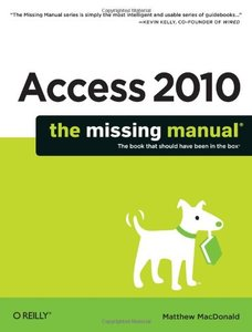 Access 2010: The Missing Manual (Paperback)-cover