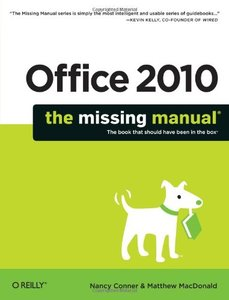 Office 2010: The Missing Manual (Paperback)-cover