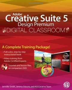 Adobe Creative Suite 5 Design Premium Digital Classroom (Paperback)-cover