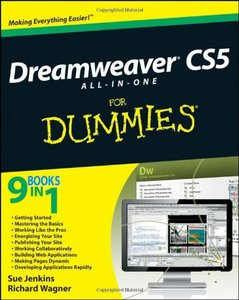 Dreamweaver CS5 All-in-One For Dummies (Paperback)-cover