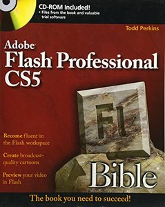 Flash Professional CS5 Bible (Paperback)-cover