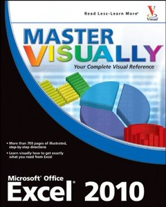 Master VISUALLY Excel 2010 (Paperback)-cover