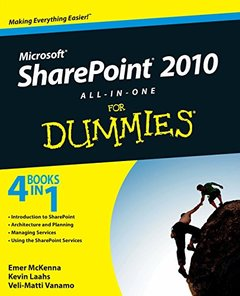 Microsoft SharePoint 2010 All-in-One For Dummies (Paperback)-cover