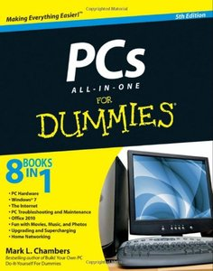 PCs All-in-One For Dummies, 5/e (Paperback)-cover
