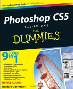 Photoshop CS5 All-in-One For Dummies (Paperback)-cover