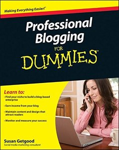Professional Blogging For Dummies (Paperback)-cover
