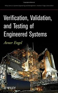 Verification, Validation and Testing of Engineered Systems (Hardcover)-cover