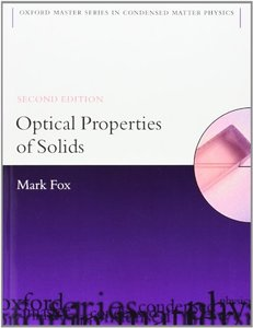 Optical Properties of Solids, 2/e (Paperback)-cover