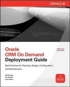 Oracle CRM On Demand Deployment Guide (Paperback)-cover
