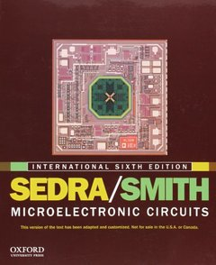 Microelectronic Circuits, 6/e (Paperback)-cover