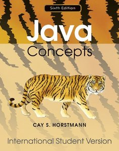 Java Concepts, 6/e (IE-Paperback)-cover