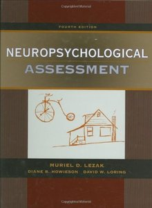 Neuropsychological Assessment, 4/e (Hardcover)-cover