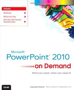 Microsoft PowerPoint 2010 On Demand (Paperback)-cover