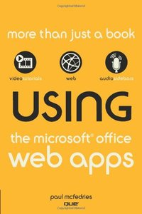 Using the Microsoft Office Web Apps (Paperback)-cover