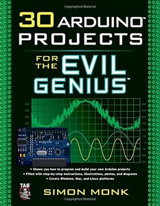 30 Arduino Projects for the Evil Genius (Paperback)-cover
